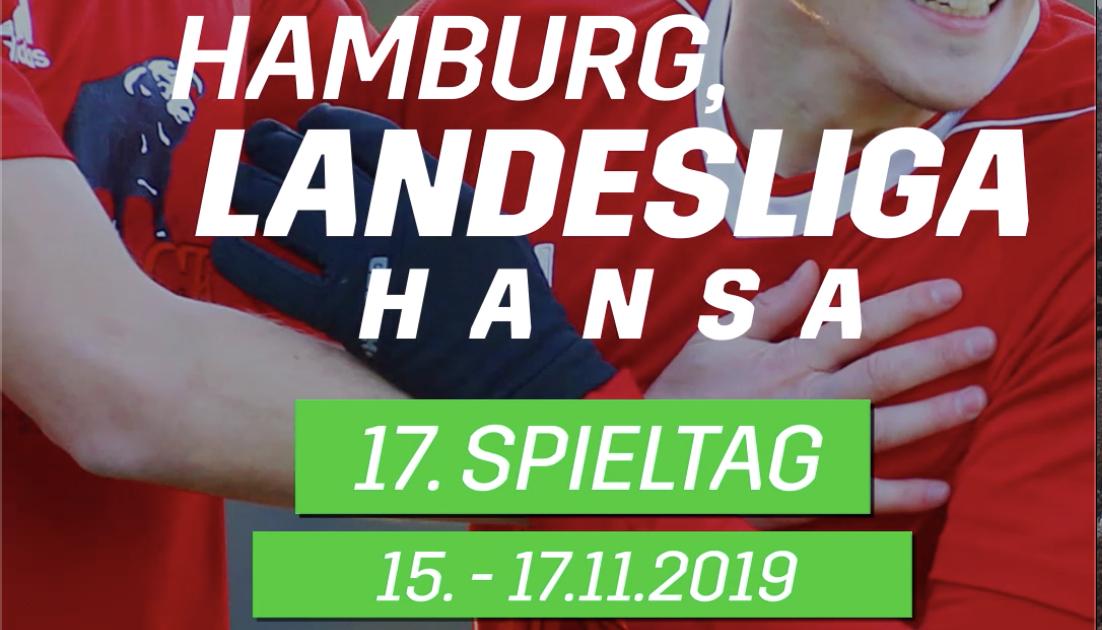 Vorschau auf den 17. Spieltag des Landesliga Hansa