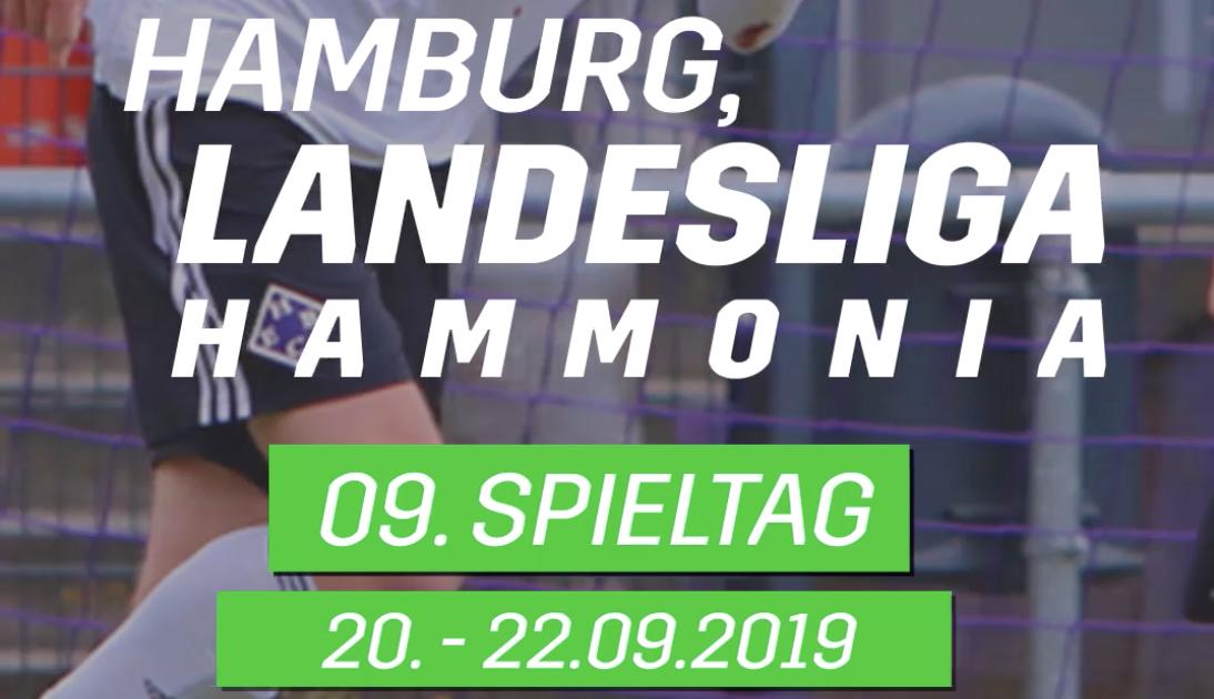 Vorschau auf den neunten Spieltag der Landesliga Hammonia