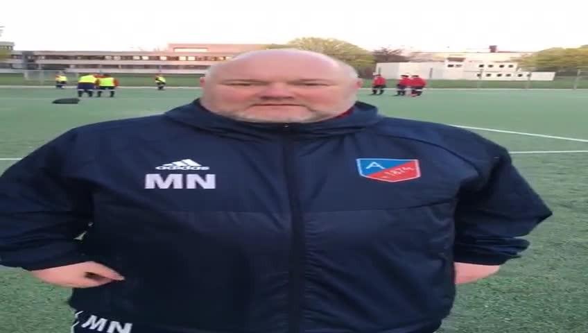 ATSV-Chefcoach Matthias Nagel zum Spiel gegen den Barsbütteler SV