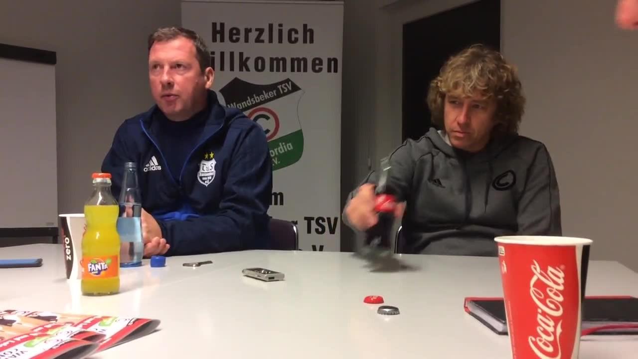 Dassendorf meldet sich zurück und triumphiert bei Cordi: Die PK mit beiden Trainern!